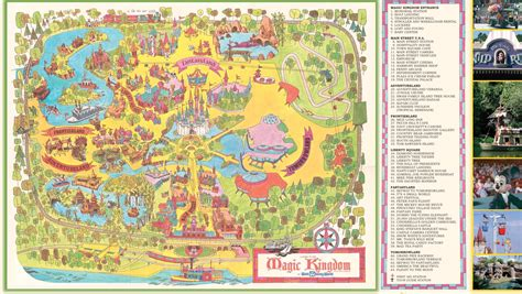disney world magic kingdom map walt disney world celebrates 45th anniversary