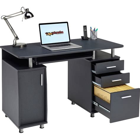 Office Bureau Desk Computer Desk With Storage A4 Filing Drawer Home Office Piranha Emperor Pc 2 Ebay
