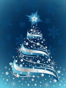 193 rbol de navidad en fondo azul en vectores