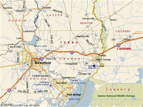 map of orange texas orange tx united states pictures citiestips