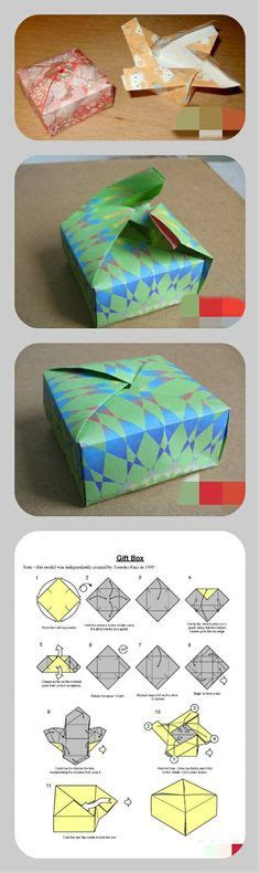 Origami Gift Box Template - 1000 images about aj 225 nd 233 k doboz gift box on