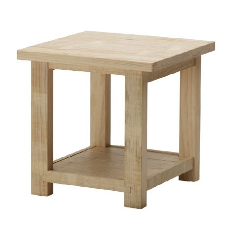 Wood Side Table Wooden Side Table Hpd459 Side Table Al Habib Panel Doors