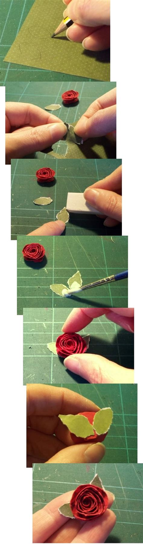 What Can I Make With Paper And Glue - things to make and do paper roses
