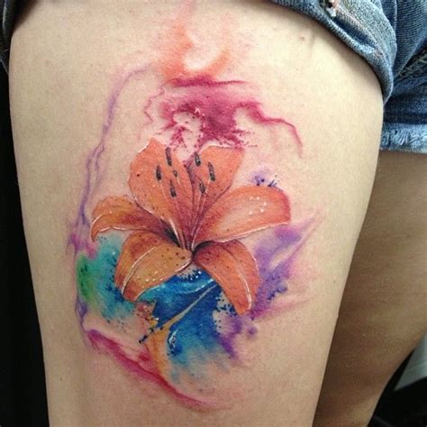 watercolor tattoo ekşi best 25 tiger tattoos ideas on