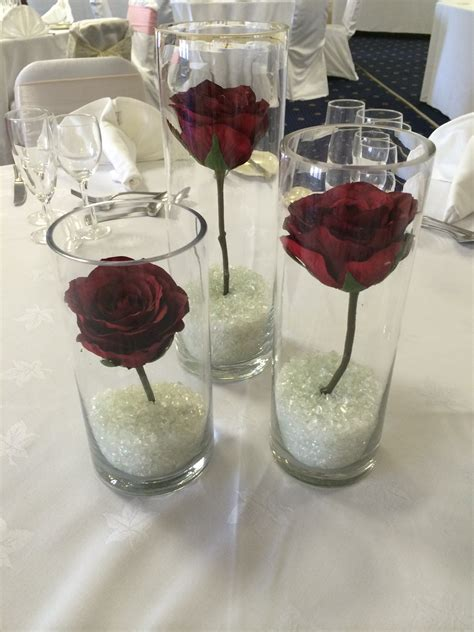 cylinder vase centerpieces table centerpieces
