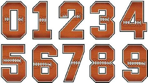 printable football jersey numbers football jersey numbers font online marketing