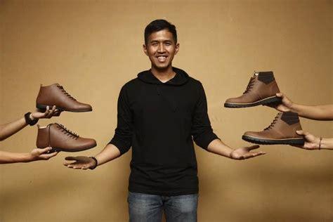 Pasaran Sepatu Brodo yukka harlanda pebisnis sepatu kulit tajir bermodal rp 7 juta inspirasi bisnis anda