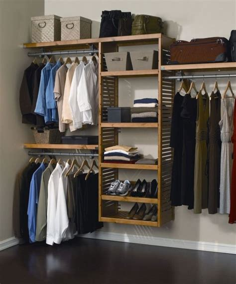 Corner Closet System Cool Diy Closet System Ideas For Organized In The