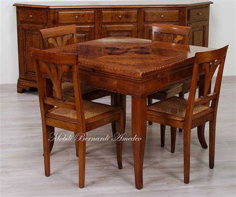 tavolo ciliegio tavoli in noce e ciliegio allungabili 2 tavoli