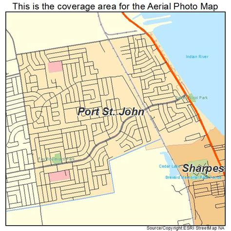 map of port st florida aerial photography map of port st fl florida