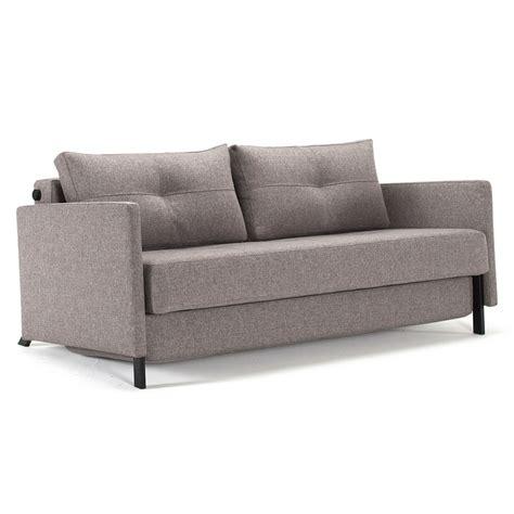 modern sleeper sofa queen cubed modern grey queen sleeper w arms eurway