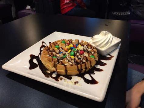 M&Ms waffle   Picture of Creams Cafe, Southend on Sea   TripAdvisor