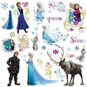 frozen peel and stick wall decals a mighty