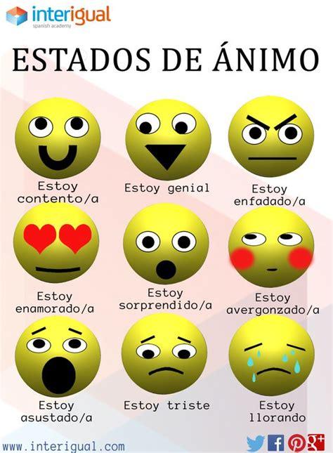 imagenes de ingles y español estados de 225 nimo en espa 241 ol moods in spanish