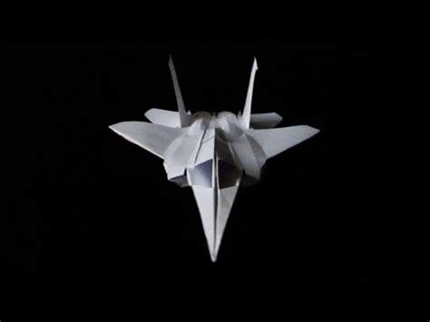 F 15 Origami - f15 paper fighter plane folded no glue cp