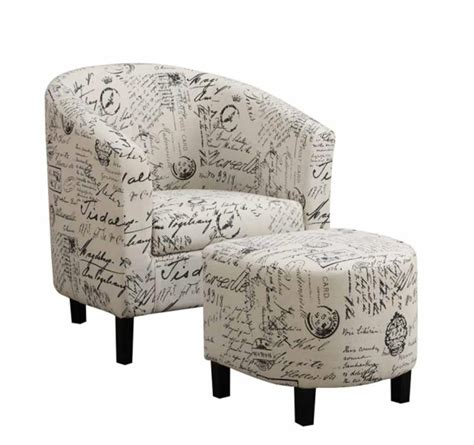 Side Chair With Ottoman Accents Chairs Accent Chair With Ottoman 900210 Chair W Ottoman Mike S Furniture