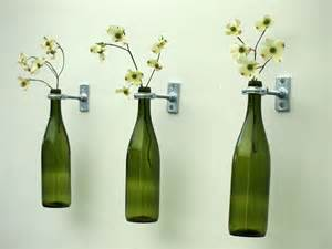 Silver Plated Vases 3 Hardware Only Wine Bottle Wall Flower Vases