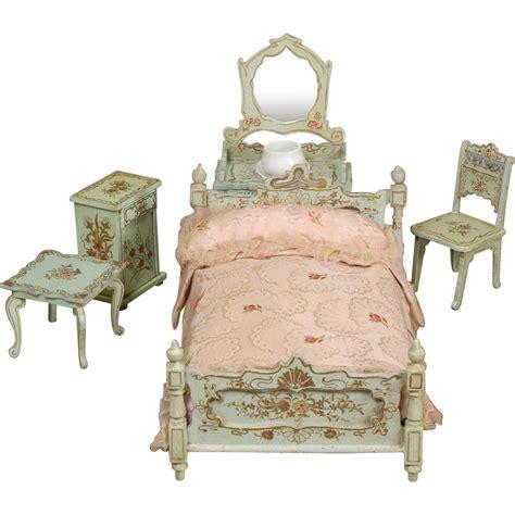 doll bedroom furniture paul leonhardt dollhouse bedroom furniture from