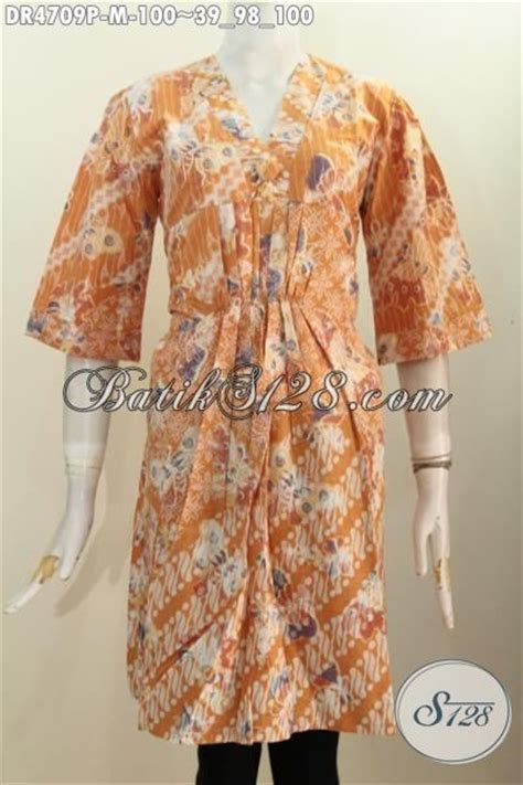 Baju Terusan Cewek Pakaian Wanita Dress Dua Warna Asimetris Clo367 baju dress batik dua motif warna kuning pakaian batik wanita muda berbahan halus proses