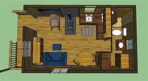 12x24 cabin floor plans sweatsville 12 x 24 lofted barn cabin in sketchup