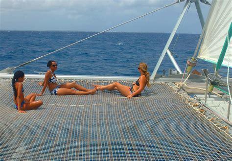 catamaran to bahamas from miami shore excursion catamaran sail snorkel rose island