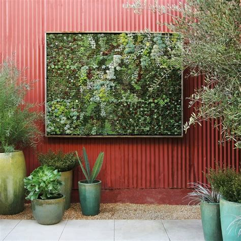 Vertical Garden Panel Vertical Succulent Garden Diy Panel Contemporary