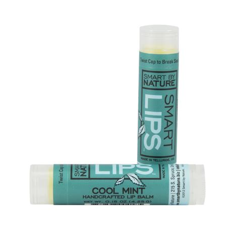 Cool And Organic Lipbalm by Cool Mint Lip Balm Smart By Nature