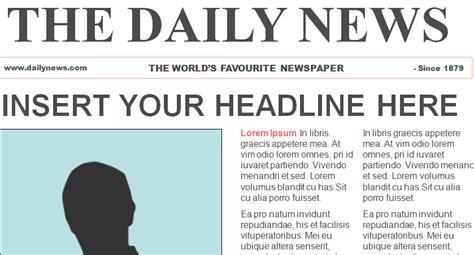 newspaper header template newspaper header template best template idea
