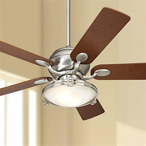 casa vieja ceiling 52 quot windstar ii steel crystal light kit ceiling fan