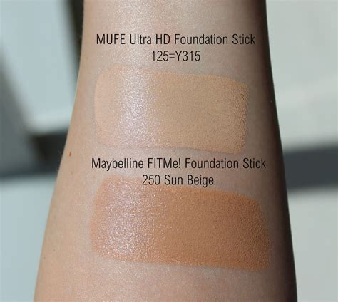 Revlon Foundation Stick make up forever hd foundation stick review and swatches