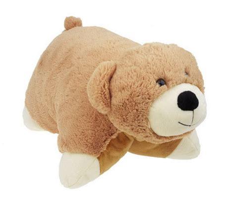 Pillow Buddies by Cuddle Buddies Convertible Plush Pet Pillow Qvc