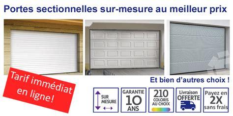 porte garage prix porte de garage sectionnelle avec porte fenetre pvc prix