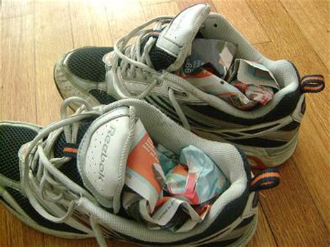 what to do with stinky shoes not that you any of