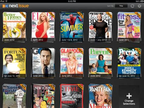 I Just This Magazine Neet The Next Issue Is In March 2007 by Next Issue Launches Netflix Like Magazine Subscriptions