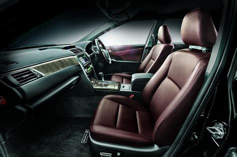 Car Interior Refurbishment Malaysia by Toyota Camry Exquisite Luxury Edition Launched In Malaysia