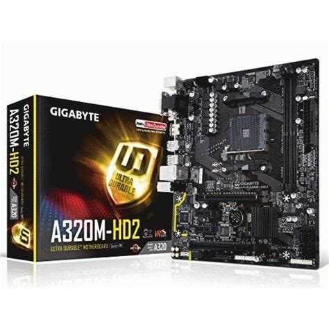 Gigabyte Ga A320m Hd2 gigabyte ga a320m hd2 micro atx am4 motherboard ga a320m hd2 pcpartpicker united kingdom
