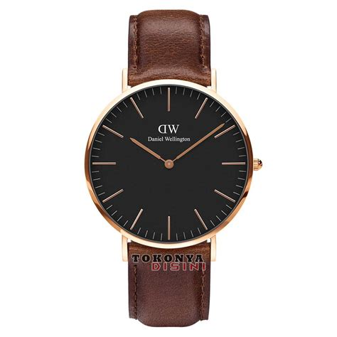 termurah daniel wellington classic black bristol 40mm
