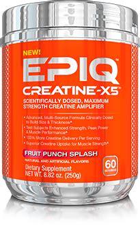 creatine x 5 epiq creatine x 5 at bodybuilding best prices on