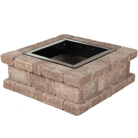 Remarkable Pavestone Rumblestone 385 In X 14 In Square Rectangle Pit Insert