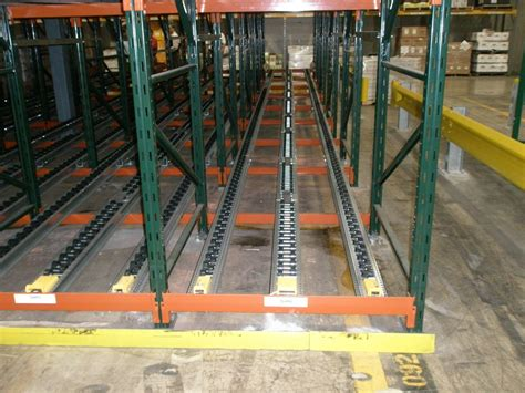 Pallet Stops For Racking by Pallet Flow Rack Ak Material Handling Systems