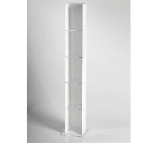 libreria porta cd libreria porta cd 17x13 5xh123 5 cm basic in plexiglas 5