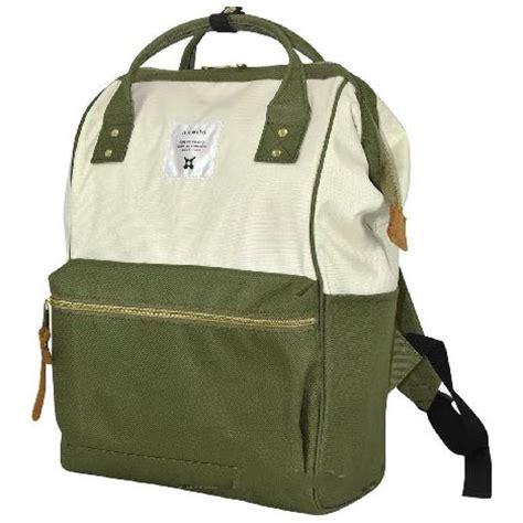 Ransel Denim Oxford Backpack anello tas ransel oxford 600d size l white green jakartanotebook