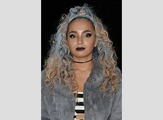 Ella Eyre Curly Light Brown Half-Up Half-Down, Two-Tone ... L'oreal Hair Products At Target