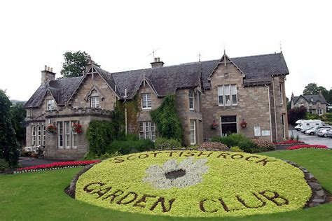 Scottish Rock Garden Society Scottish Rock Club Photo Picture Image Pitlochry Perth And Kinross Pitlochry Uk