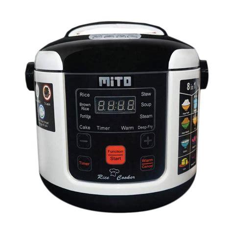 Original Mito Digital Rice Cooker 1l 8in1 R1 Magic Mito R1 jual mito r1 8in1 digital rice cooker hitam 1 l harga kualitas terjamin blibli