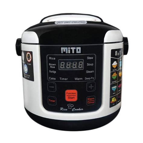 Rice Cooker Multifungsi jual mito r1 8in1 digital rice cooker hitam 1 l
