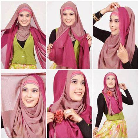 tutorial hijab segiempat najwa آموزش بستن شال در سال جدید
