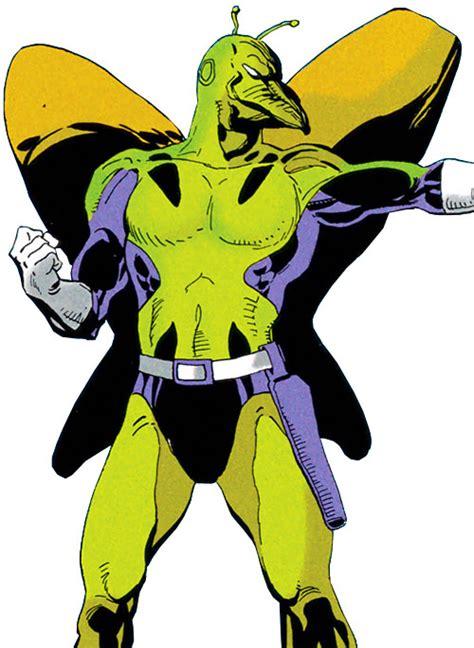killer moth killer moth dc comics batgirl batman enemy post