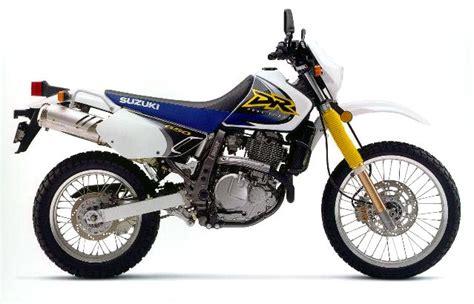 1999 Suzuki Dr650 Suzuki Dr650 Model History