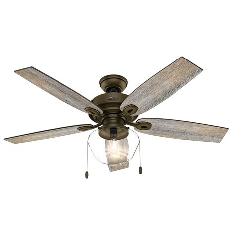 crown canyon 52 in indoor regal bronze ceiling fan hunter crown canyon 52 in led indoor outdoor noble bronze